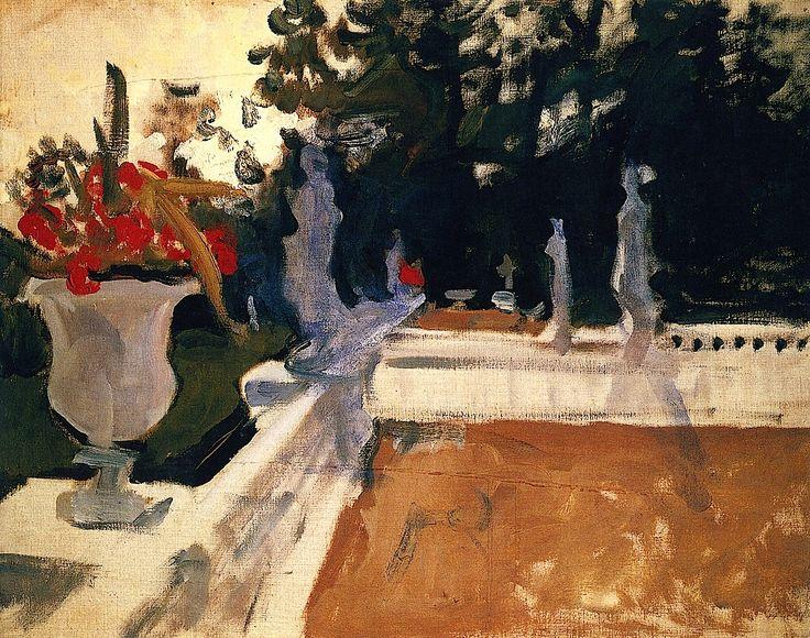Portico with Balustrade Valentin Serov - 1903