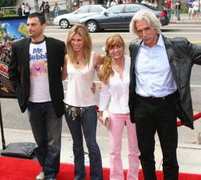 Sam Elliott Daughter | Katharine Ross, Sam Elliott and family at the Hollywood Premiere of ...