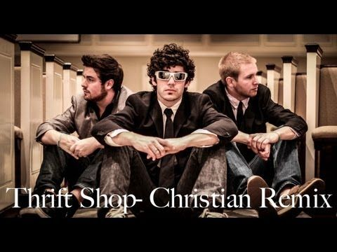 A Christian version of Thrift Shop by Macklemore and Ryan Lewis. I have to say it was awesome!!!