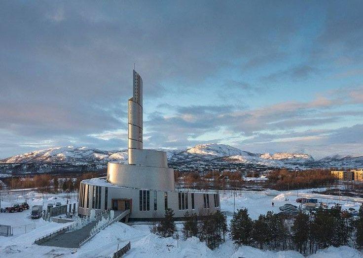 Собор Северное сияние в Норвегии