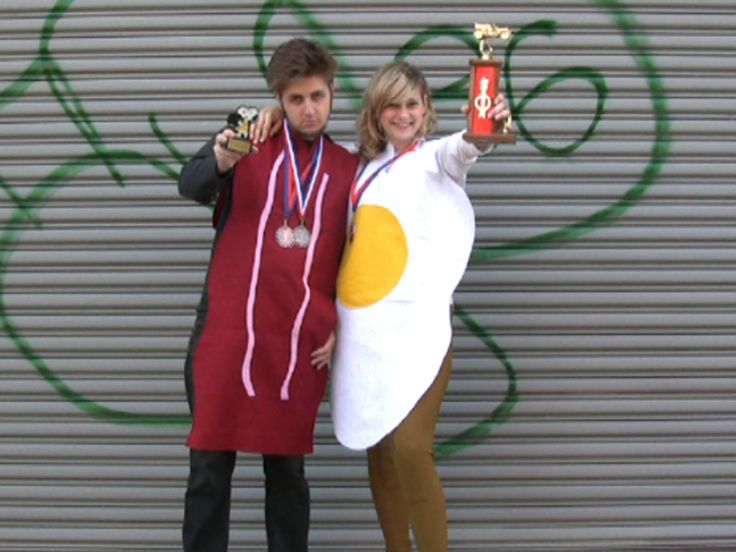New Project: Eggs and Bacon Halloween Costume