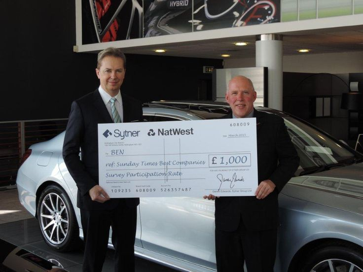 Sytner celebrates success with automotive charity BEN! Click for more!