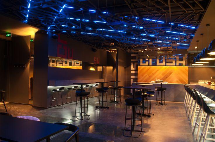 Crush wine bar interior design. designer: Suto Kata Cluj-Napoca, Cluj, Romania.