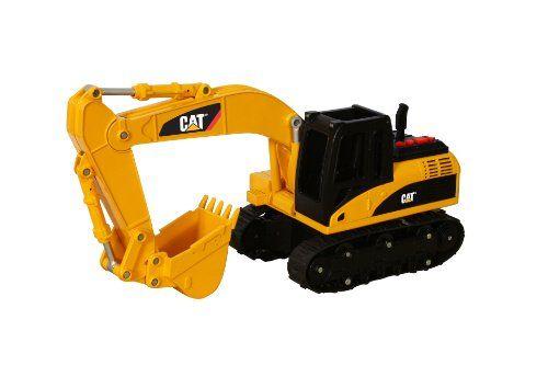 Toy State Caterpillar Cat Excavator Big Sound Machine Excavator Vehicle