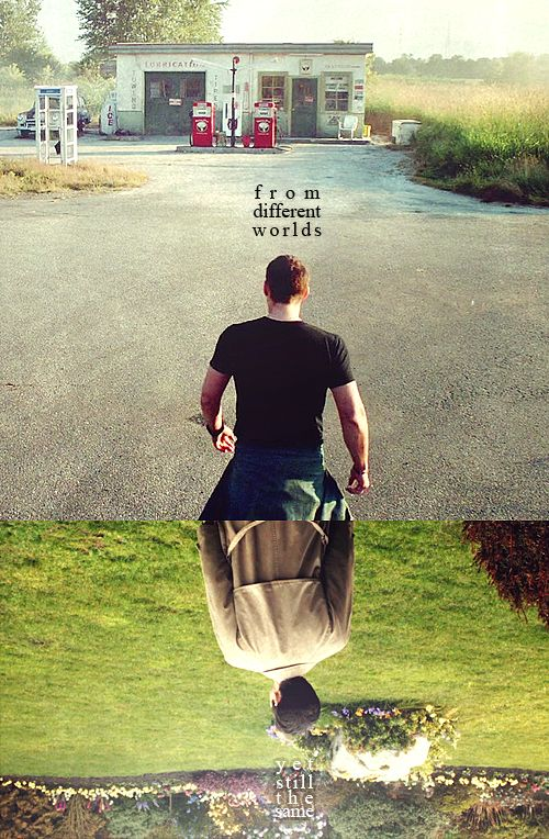 ''From different worlds. Yet still the same.'' / Dean Winchester & Castiel