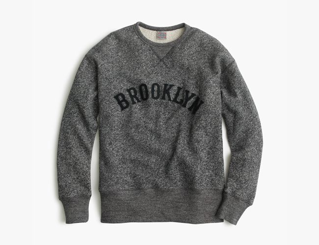 J.Crew x Ebbets Field Flannels Brooklyn Eagles Sweatshirt