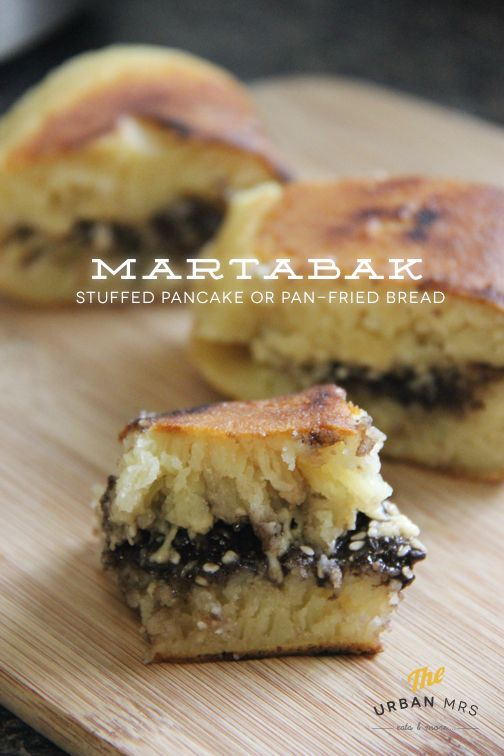Martabak - Martabak is a very famous street food and they could be spotted in almost every corner of the city after 5pm daily.