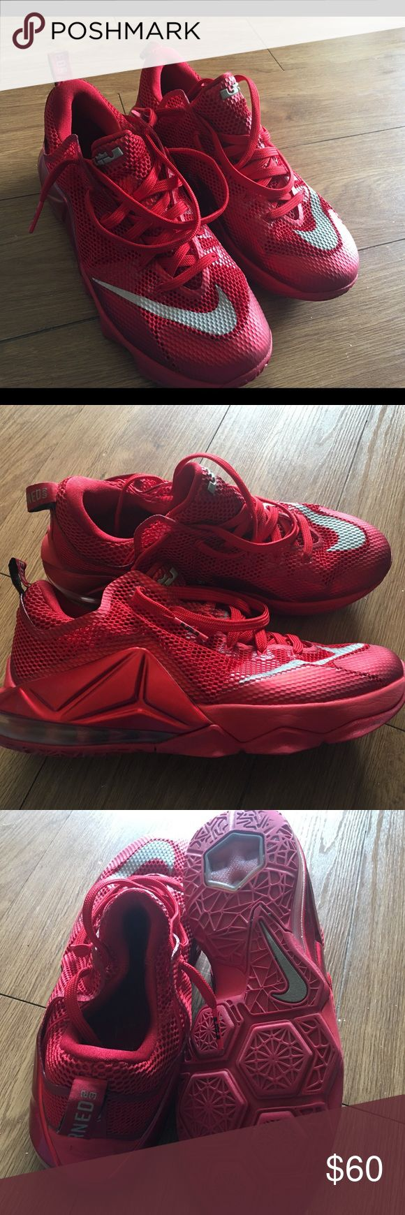 Lebron James Gym Shoes Mens Size 10 Previously worn but in excellent condition. Nike Shoes Sneakers