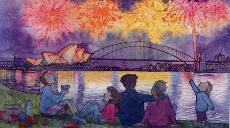 fireworks - Alison Lester