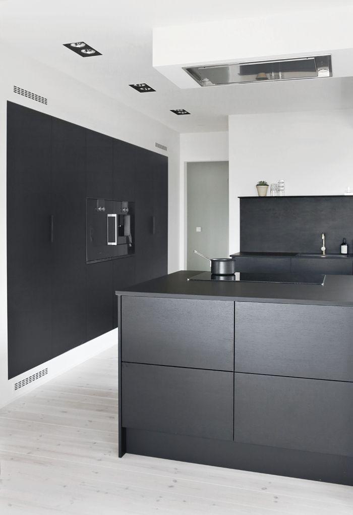 Kitchen In Black Wood. Part 82