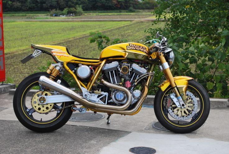 Custom Harley Davidson Sportster 1200 by de'LIGHT
