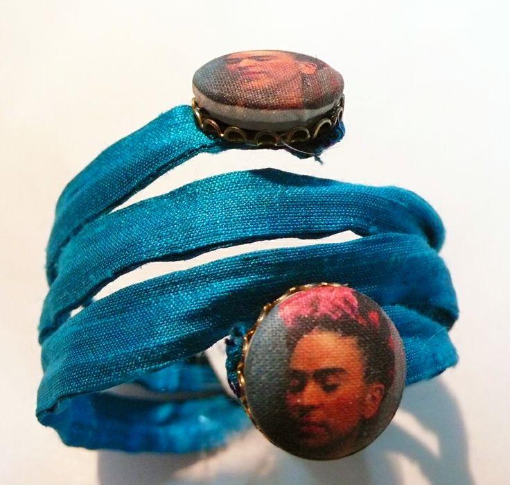 Frida Kahlo spring bracelet