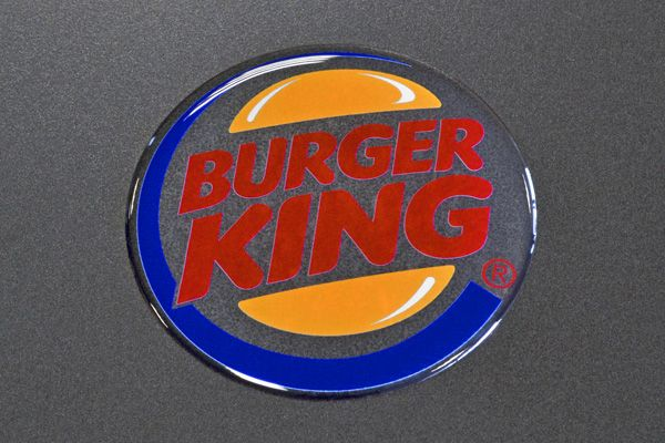 Doming sticker 3D BurgerKing