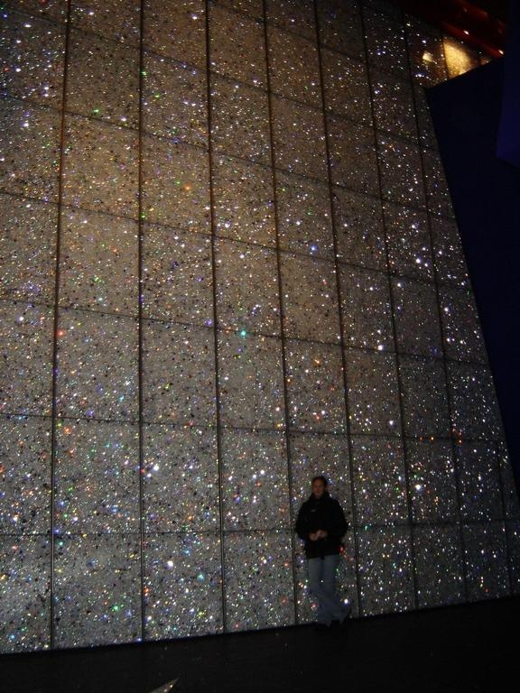 Swarovski crystal wall <3