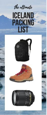 How to pack for Iceland!