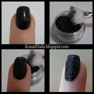 Create your own, cheap textured manicure. Dupe for Zoya's PixieDust collection!