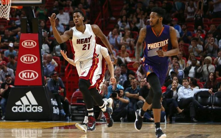 "NEW YORK - Minutes after Hassan Whiteside's tip-in in Detroit on Tuesday gave the Heat its first regular season at-the-buzzer win in seven years, coach Erik Spoelstra said something as eye-opening as anything he has uttered after a game this season. ""Hassan, he is, maybe for the first time, playing more for the guys next to him than he is for himself,"" Spoelstra said, adding that"