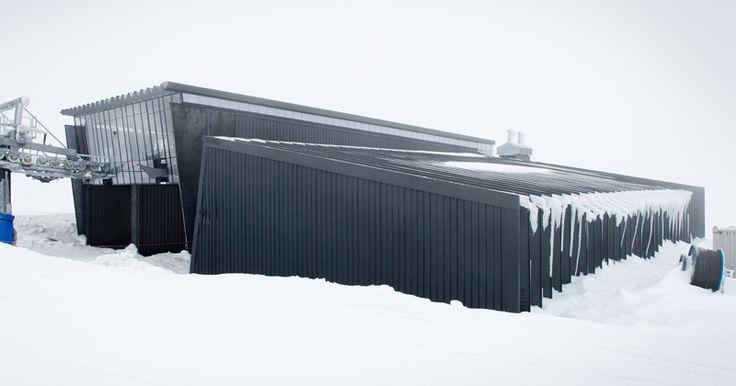 HB Architecture, Turoa Lift Terminal, Turoa, Mt. Ruapehu, New Zealand