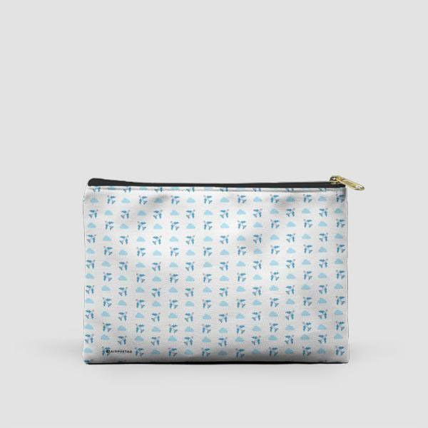 Emoji Cloud Plane - Pouch Bag