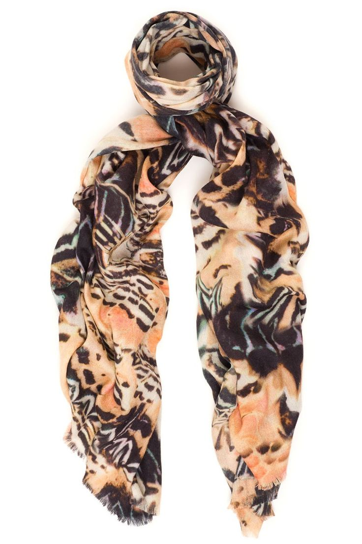 Flutter is a beautiful butterfly print scarf in the most romantic colors of this season. Available online: http://www.sofinah.fi/product/344/scarf-flutter-nude