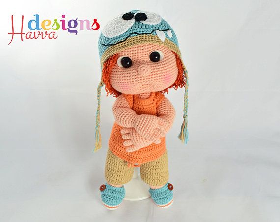 ◆❤ Welcome to Havva Designs Patterns Store ❤◆ ❥ This listing is for an amigurumi pattern, not the finished toy. ❥ This pattern ONLY includes all