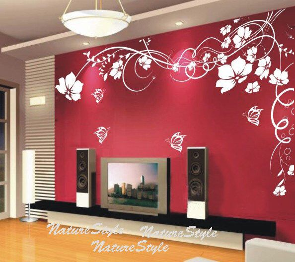 25+ Best Ideas About Flower Wall Decals On Pinterest