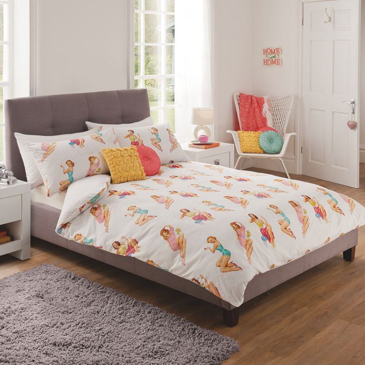 Fifties Pin Ups Duvet Set. 132 best images about Asda   George Home on Pinterest   Candles