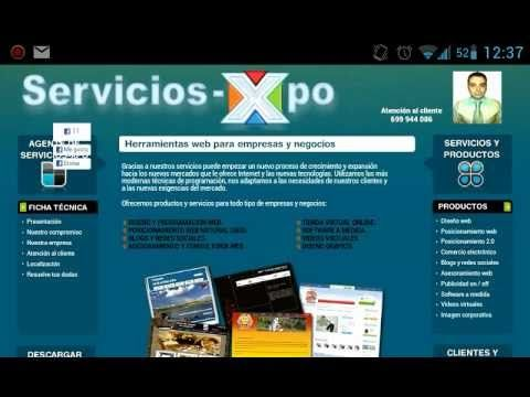 Mi video de Asesor comercial en Servicios Xpo.