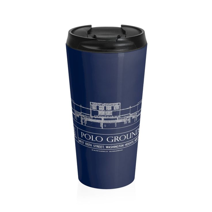 Polo Grounds (Elevation View) Stainless Steel Travel Mug