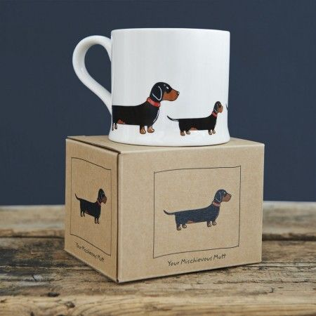Sweet William Dachshund Mug - £12.99