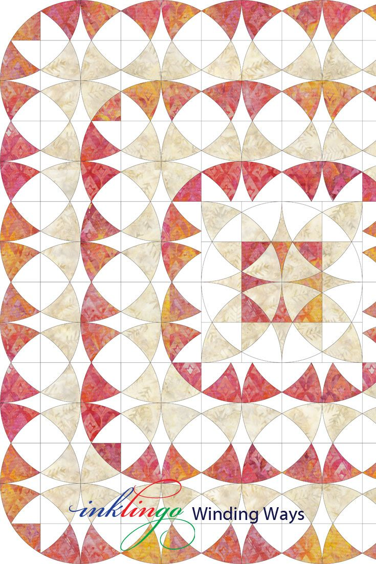 This is one of several worksheets for Inklingo Winding Ways. http://lindafranz.com/shop/winding-ways-quilt/20