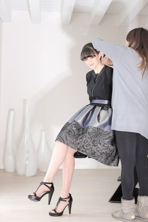 Focusing on #FallWinter1415, let's introduce you the #baloon #skirt: with  #taffeta, #silk #organza and organza& #jacquard ...  http://blog.martacucciniello.com/post/91124333074/the-balloon-skirt