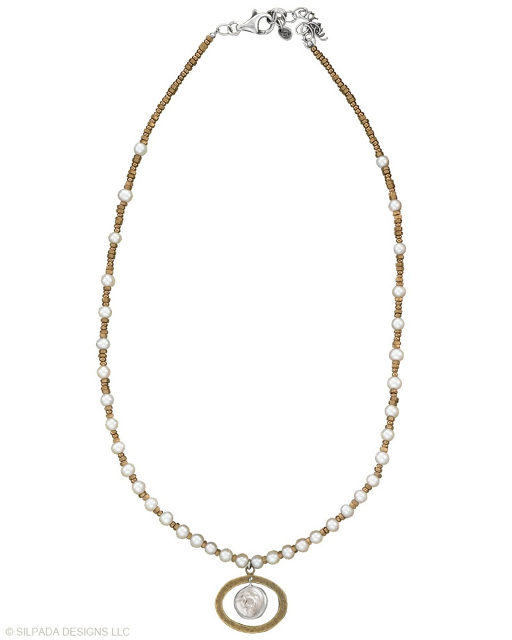 Beautiful silpada necklace.  Order today at www.mysilpada.com/dawn.palumbo