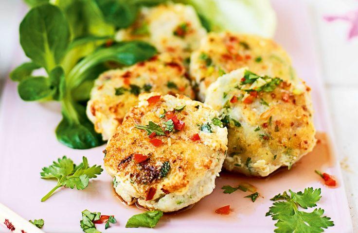 Thai-fiskekaker med chili og sitrongress - Tara