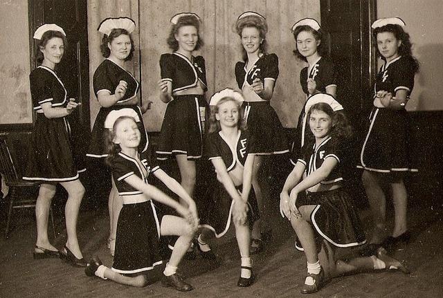 Fyfield Follies, 1949: Girls Generation, 1930S 1940S, Chorus Girls, Fyfield Folli, 30 S 40 S Style, Photo, Girls Inspiration, Girls Style, 1920S 1930S