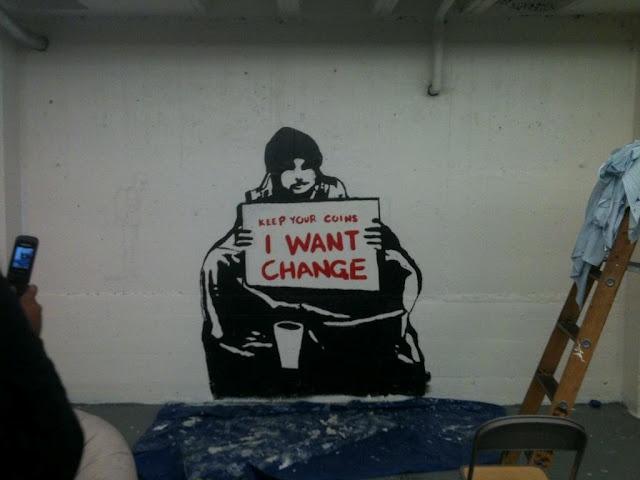 I want change too.