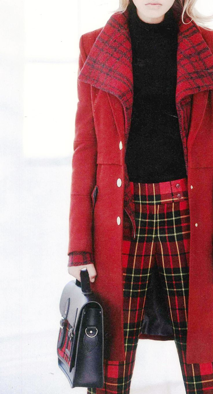 Tartan in September Issue, Look, U.K.