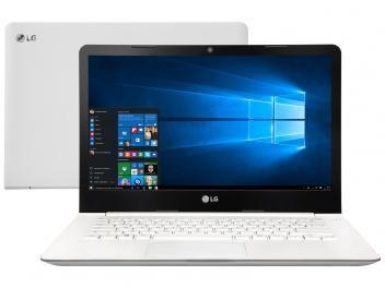 """Notebook LG 14U360 Intel Quad Core - 4GB 500GB LED 14"""" Windows 10 por R$ 1.349,90 em até 10x de R$ 134,99 sem juros no cartão de crédito"""