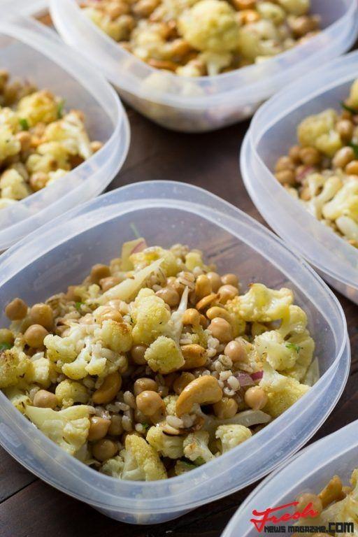 Cauliflower Cashew Lunch Bowls | Fresh news Magazine. Thats all you need