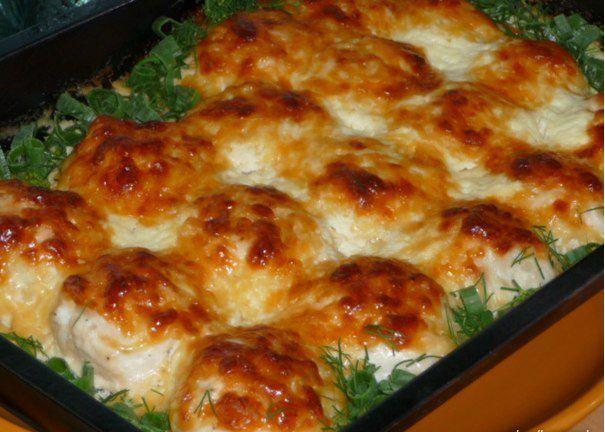 Вкусная еда - кулинарные рецепты на каждый день!: Куриные шарики в сливочном соусе. Необыкновенная вкуснятина!