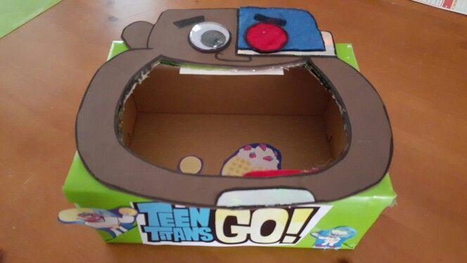 Teen Titans Valentine's Box