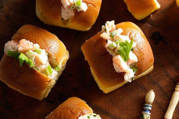 Mini Shrimp Rolls | Recipe | Shrimp rolls, Shrimp and Minis