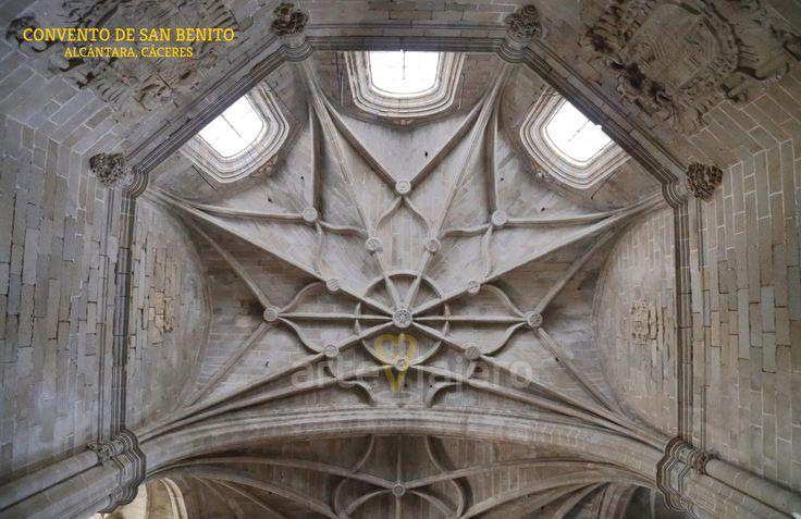 Convento de San Benito de Alcántara (Provincia de Cáceres), Bóveda del ábside http://arteviajero.com/