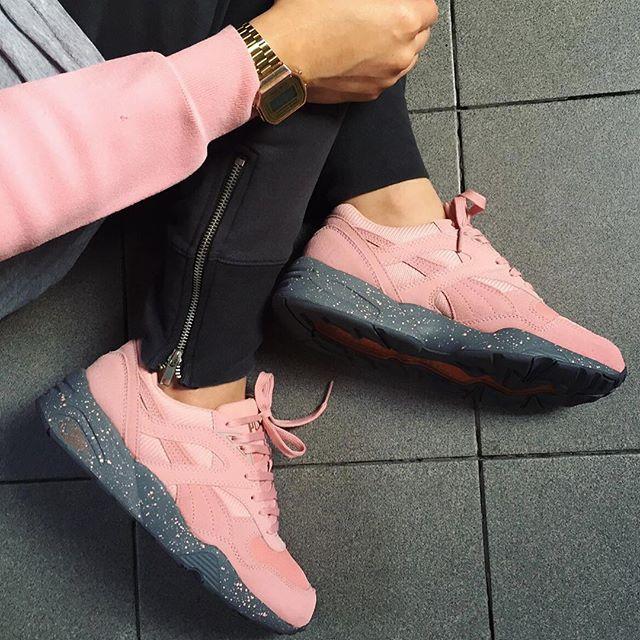code promo 0c63a ebd18 puma r698 pink women