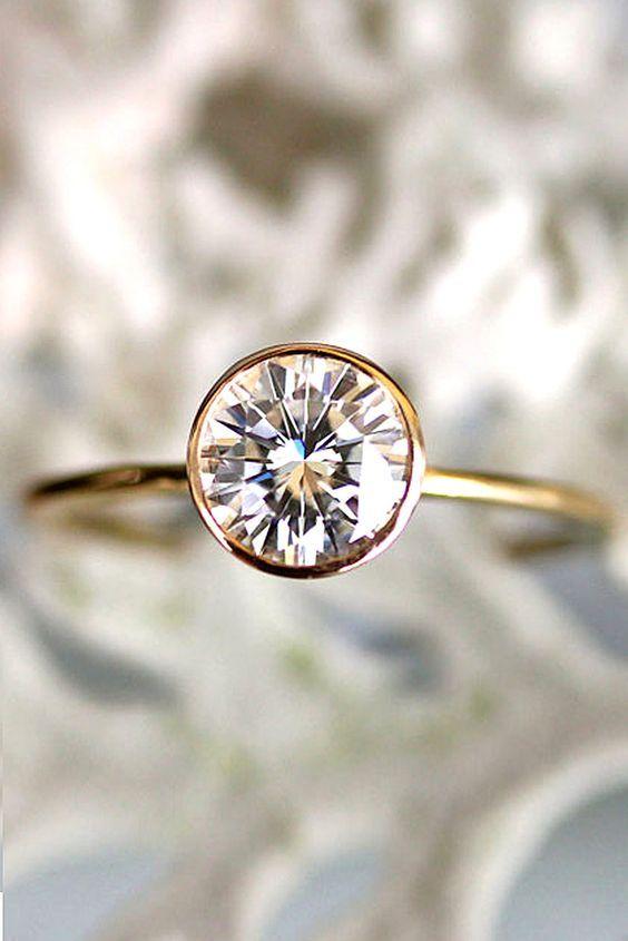 Budget-Friendly Engagement Rings Under $1,000 ❤ See more: http://www.weddingforward.com/cheap-engagement-rings/ #weddings