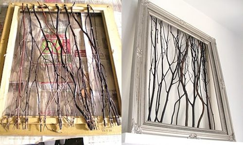 11 best images about i for Diy twig decor