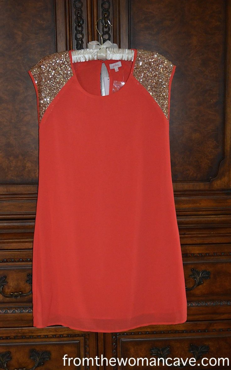 Stitch fix stylist  I want this if it  39 s available     Pixley Zailey Sleeveless Sequin Shoulder Dress