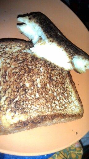 Roti bakar cheese: