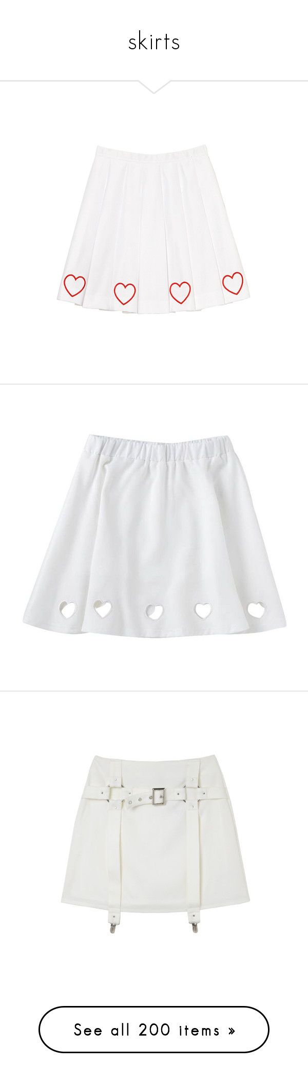 """""""skirts"""" by choiseungcheols ❤ liked on Polyvore featuring skirts, mini skirts, bottoms, clothing - skirts, white pleated skirt, pleated miniskirt, pleated mini skirt, puffy mini skirt, short puffy skirts and bubble skirts"""