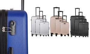 Transporter toutes les affaires personnelles dans ces valises trolley qui sont disponibles dans une variété de coloris et trois tailles